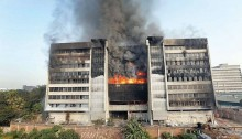 Fire breaks out in Gazipur textile mill