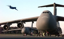 The most powerful plane of US military