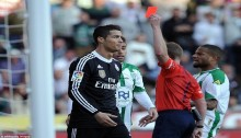 Bale saves Real after Ronaldo red card