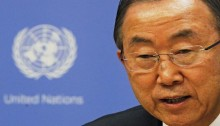 UN secretary-general condemns Ukraine rebel offensive