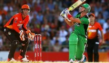 Big Bash: Carberry\'s Perth beat Pietersen\'s Melbourne