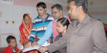 Bashundhara Group stands beside the arson victims