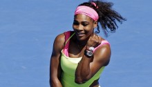 Fired-up Serena Williams to face teen Madison Keys in Aussie semi