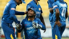 Kumar Sangakkara: Sri Lanka keeper sets ODI dismissals record