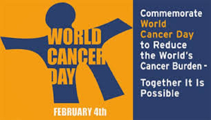 Int\'l Cancer Day to be observed Wednesday