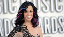 Katy Perry Super Bowl guitars up for auction