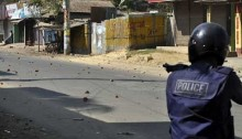 Youth shot in police firing in capital