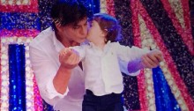 Shah Rukh Khan and his murphy baby!