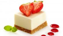 Valentine special recipe: White Chocolate cheese cake