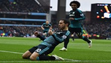Chelsea wins to move seven points clear