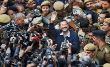 Exit poll predicts Arvind Kejriwal\'s return in Delhi