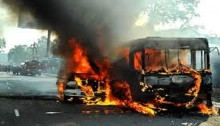 3 vehicles torched in Gazipur