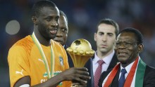 Ivory Coast lift trophy after penalty drama