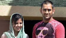 MS Dhoni's wife reveals their baby daughter's name!