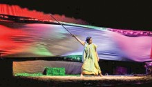 Shunyan stages \'Laljomin\'