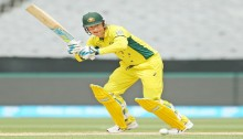 Clarke top scores for Australia