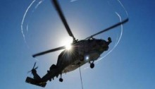 Japan Military says chopper with 3 aboard missing