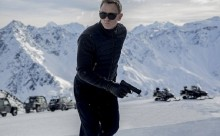 Bond is back in action, Daniel Craig looks deadly