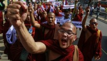 Myanmar revokes Rohingya voting rights after protests