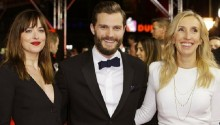 Fifty Shades of Grey film premieres in Berlin
