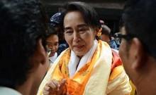 Myanmar\'s Aung San Suu Kyi to lead mass rally honouring hero father
