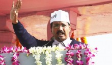 Kejriwal to be sworn-in as Delhi CM today