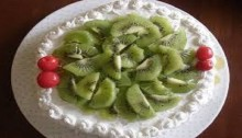 White Forest Cake Recipe
