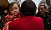 Chinese baby girl born 'pregnant' with twin fetuses