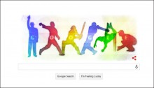 Google marks ICC World Cup 2015 with colourful doodle