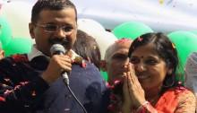 Kejriwal takes oath as 8th CM of Delhi