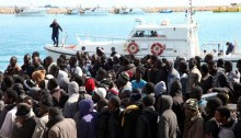 Italians rescue more than 2,000 Mediterranean migrants