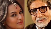 Sonakshi Sinha's mini Big B moment