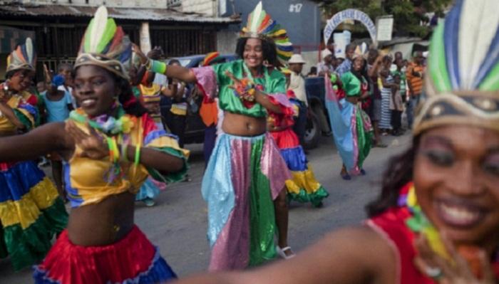 Power line falls on Haiti carnival float, killing at least 18 people