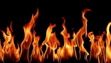 BNP office set afire in Keraniganj