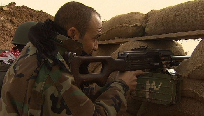 Kurdish forces repel ISIS offensive near Irbil
