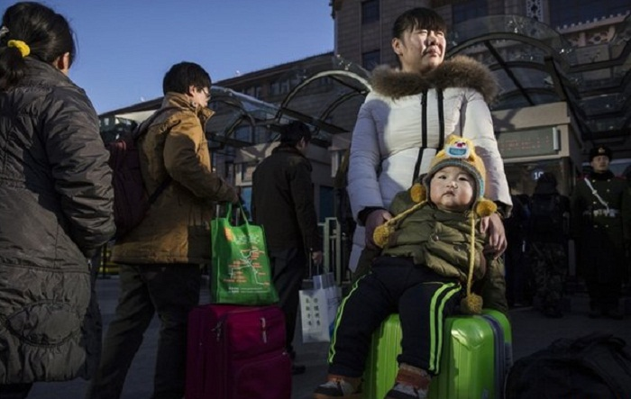 China's New Year getaway begins as millions head home