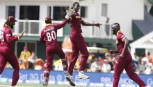Russel leads West Indies to win over Pakistan by 150 runs