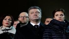 Ukraine President accuses Kremlin over maidan killings