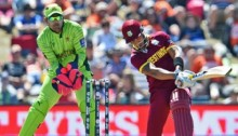Ramdin, Simmons, Russell take West Indies past 300