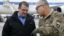 Afghanistan conflict: Ash Carter makes first visit