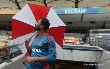 Bangladesh remain unbeaten after washout at the Gabba