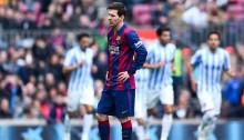 Malaga earn shock win at Barcelona