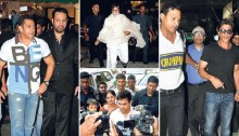 On guard: People who keep the Bollywood stars safe
