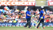 England limp to 303 after Moeen ton