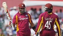 Gayle hits 22nd ODI century; Samuels fifty