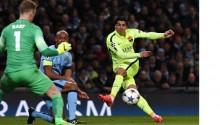 Champions League: Suarez scores brace as Barcelona down Man City