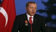 Turkish President Recep Tayyip Erdogan mocks \'men who wear skirts\'