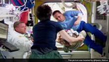 Water found in Astronaut\'s Helmet after spacewalk
