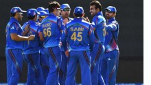 Scotland dismissed for 210 by Afghanistan in World Cup match
