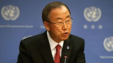 UN chief renews call for peaceful political solution